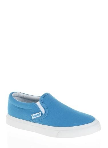 Hummel Kız Çocuk Dynamic Performance Spor Ayakkabı E64349-7396 Mavi